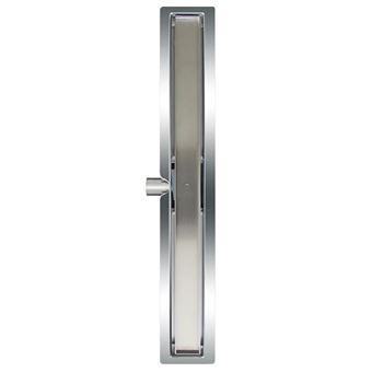 Desagüe lineal de ducha L`Aqua, baldosa 70 cm acero inoxidable