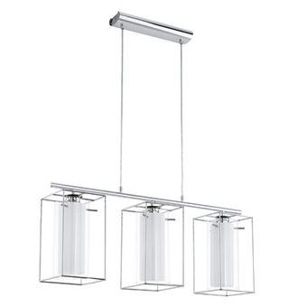 Lámpara colgante de techo Eglo, Loncino 1 94378, Metálico/ Negro