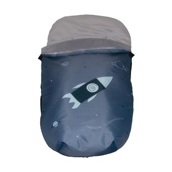 Saco Polar Pekebaby Grupo 0 Impermeable Space Adventure Gris