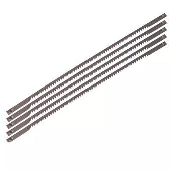 Juego de 5 hojas de acero Ferm, Modelo SSA1001 para sierras de contornear