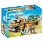 Camion Con Elefante Playmobil Wild Life