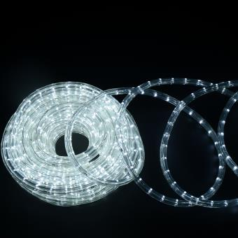 a4c1586f00f HomCom Cadena Luces LED de Alambre Impermeable Decoración para Navidad  Blanco Frio 20M