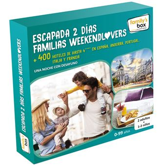 Pack Experiencia Escapada 2 días familias weekendlovers