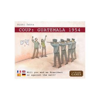 Juego De Mesa Zacatrus Coup Guatemala 1954 Juegos De Cartas Los