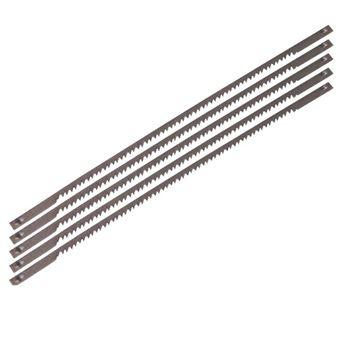 Juego de 5 hojas de acero Ferm, Modelo SSA1002 para sierras de contornear