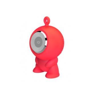 Altavoz Bluetooth Conceptronic Waterproof Rojo