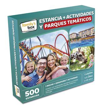 Pack Experiencia Estancia + actividades y parques temáticos