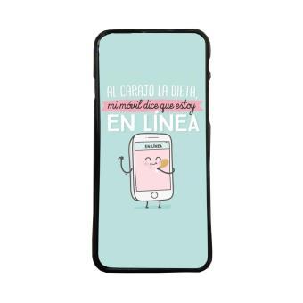 ff570dc7943 Carcasa para móvil de TPU compatible con Iphone 5 5s frases graciosas dieta  linea - Fundas y carcasas para teléfono móvil - Los mejores precios | Fnac