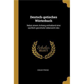 Serie ÚnicaDeutsch-gotisches Wörterbuch Paperback
