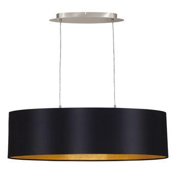 Lámpara colgante de techo Eglo, Maserlo 31611, 78 cm, Negro