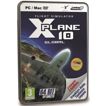 X-plane 10 Global 64-bit Best of With Frankfurt-hahn, Toulouse and Lugano Dlc... [importación Inglesa]