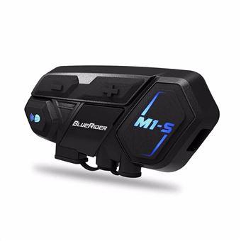Auriculares Bluetooth y kit de sistemas de comunicación de intercomunicación para casco de motocicleta