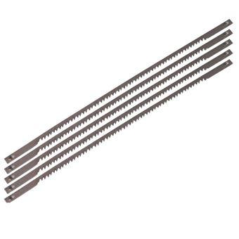 Juego de 5 hojas de acero Ferm, Modelo SSA1004 para sierras de contornear