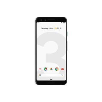"Google Pixel 3, Banda 4G / LTE / WiFi, 64 GB, 4 GB de RAM, 5.5"""", 2915 mAh, Cámara de 12,2 MP, Blanco . (Versión DE)."