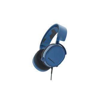 Auriculares Steelseries Arctis 3 Binaurale Diadema Azul Con Micrófono