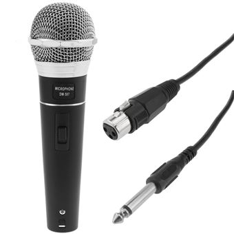 Micrófono dinámico para karaoke y conferencias BeMatik 80-12500 Hz