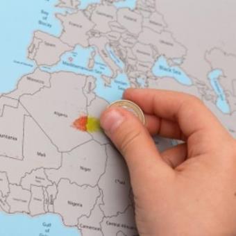 Mapamundi Para Rascar Otros Los Mejores Precios Fnac