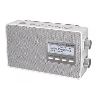 Panasonic RF-D10 Personal Digital Color blanco radio