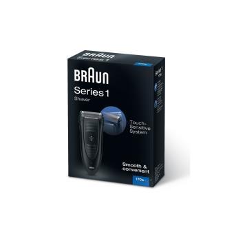 Braun 170s-1 - Afeitadora eléctrica, color negro