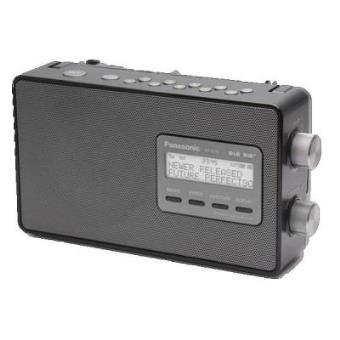 Panasonic RF-D10 Personal Digital Negro radio