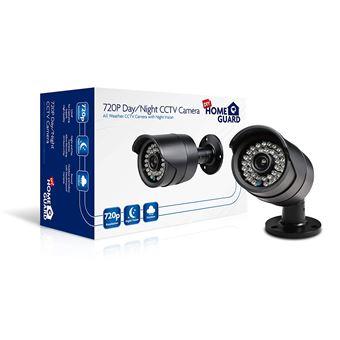 Cámara de Seguridad Homeguard 720P para kits CCTV cableados
