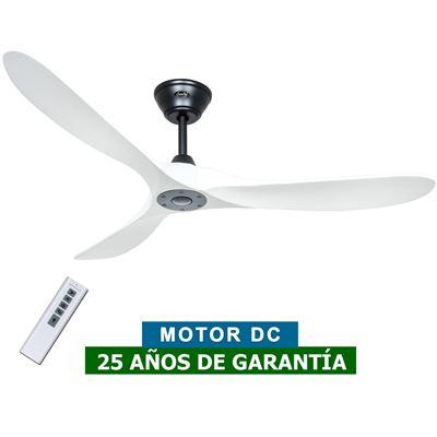 Ventilador de techo CasaFan 315226 ECO GENUINO 152cm blanco/negro