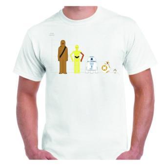 Camiseta DrMugCollection Star Wars, Talla XL