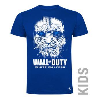 Camiseta manga corta Friking, Modelo 83 wall of duty, Talla 4 años, Royal