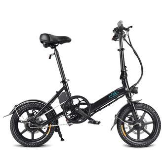 Bicicleta eléctrica FIIDO D3 14 pulgadas Rueda 7.8Ah 36V 250W Negro