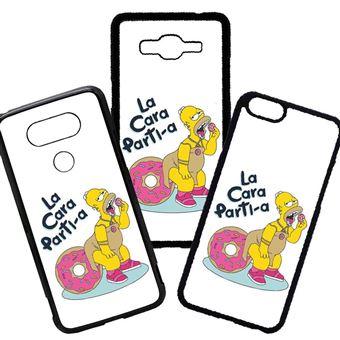 50ddf3fd4e4 Funda de Movil Compatible con Iphone 5 5s Modelo Frases graciosas Los  simpson la cara partia donuts - Fundas y carcasas para teléfono móvil - Los  mejores ...