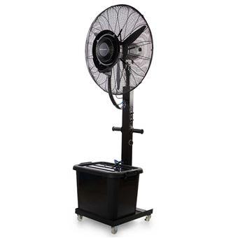 Ventilador de pie Orbegozo SFA 8000 con humidificador negro