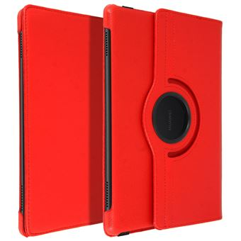 Funda libro Huawei Mediapad T5 10'' Gira 360º, Rojo