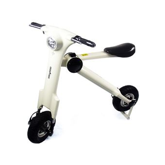 Moto eléctrica Skateflash GTA13 Blanco