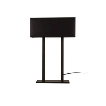 Lámpara de mesa Homemania Way Surf III Negro 35x15x52 cm