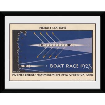 Fotografia enmarcada Transport For London Boat Race 60x80cm
