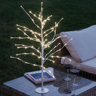 Árbol Nevado Decorativo (112 LED)