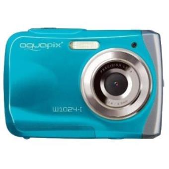 """Easypix Aquapix W1024-I - Cámara digital (10 megapíxeles, pantalla de 6,1 cm/2,4"""""""""""""""", sumergible hasta 3 m), color...)"""