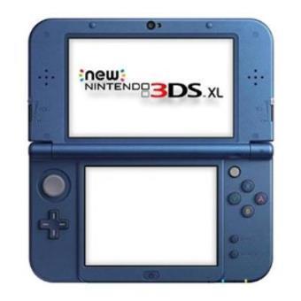 Nintendo 3DS XL, Azul Importación Italiana
