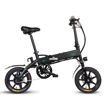 FIIDO D1 Bicicleta eléctrica 14 pulgadas Rueda 10.4Ah 36V 250W negro