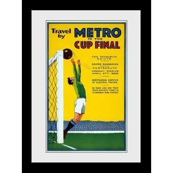 Fotografia enmarcada Transport For London Metro To The Cup Final 60x80cm