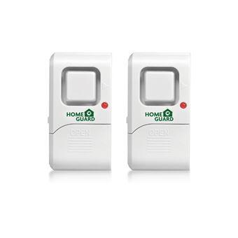 Alarma de vibración para detección de entrada forzada Homeguard Sensor HGWDA522, pack de 2 unidades.