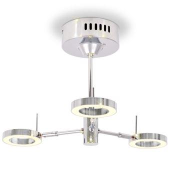 Lámpara LED de techo vidaXL, 3 luces Blanco cálido