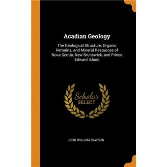 Acadian Geology HardCover