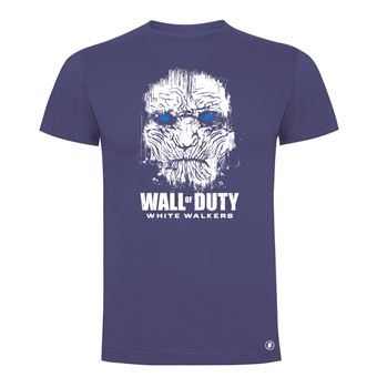 Camiseta manga corta Friking, Modelo 83 wall of duty, Talla L, Denim