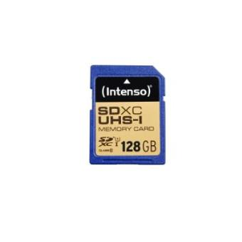 Intenso SDXC, 128GB - Memoria flash