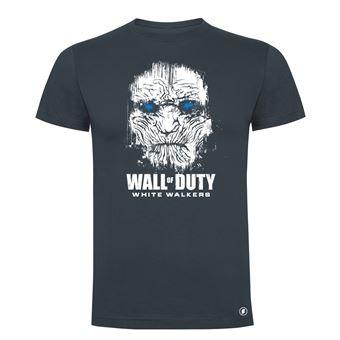Camiseta manga corta Friking, Modelo 83 wall of duty, Talla L, Ebano