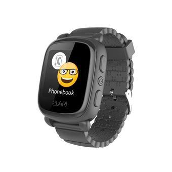 Smartwatch para niños Elari kidphone 2, negro relo, Localización gps y botón sos exclusivo