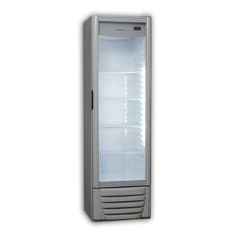 Vitrina expositora Jocel nevera JEXP249-003218, 249L, No Frost, Luz LED, Termostato regulable