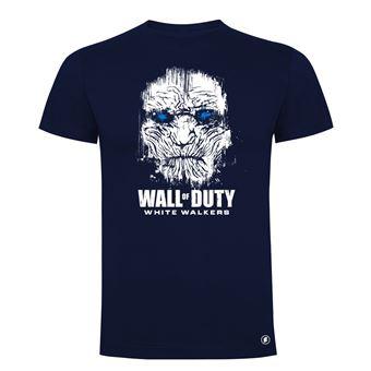 Camiseta manga corta Friking, Modelo 83 wall of duty, Talla L, Navy