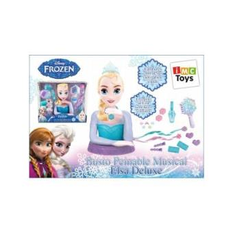 Frozen Busto Peina Elsa Deluxe